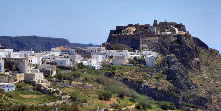 View of Kythera (Chora)